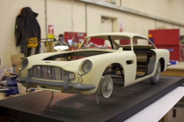 3D printer used to produce Skyfall's Aston Martin stunt double