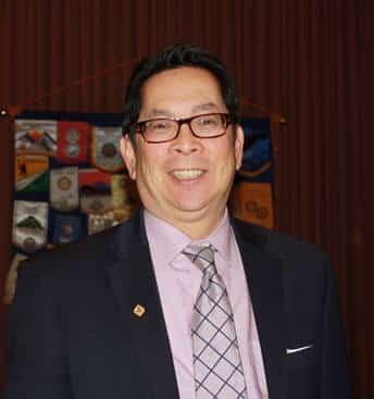 Guest speaker Dr. Chong