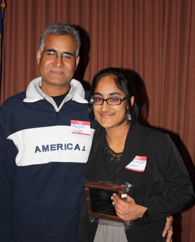 Elsie Allen valedictorian, Remanjor Kaur