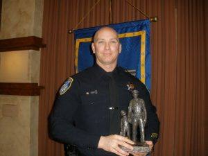 Mike Clark, 2013 Law enforcement officer of the Year