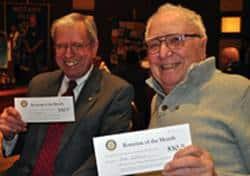 Jim Johnson and Dan Schell