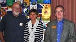 Steve Olson, Judy Glenn & Norm Owen