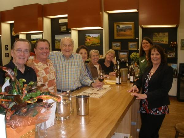 Social at Corrick's Stationery & Gifts February 2013