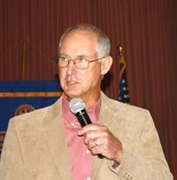 Guest speaker Dick Matthews