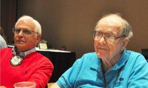 Fred Levin and Dick Jenkins. Welcome back Dick!