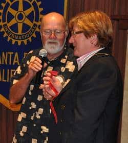 Steve Olson and Julia Parranto