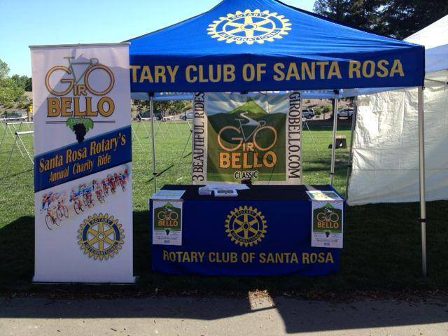Rotary Club of Santa Rosa Public Awareness Tent