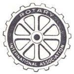 Rotary logo in 1921