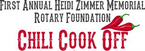 First Annual Heidi Zimmer Memorial Rotary Foundation Chilli Cook Off