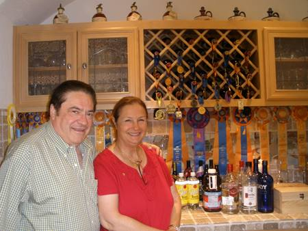Cathy & John Vicini - gracious hosts!