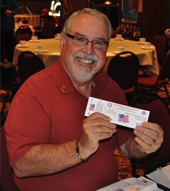 Ray Dorfman scalps - uh, make that sells - tickets to the Veteran's Luncheon