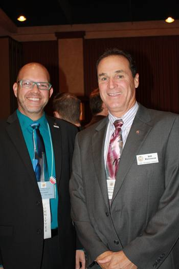 Mike Kalhoff and Bill Rousseau