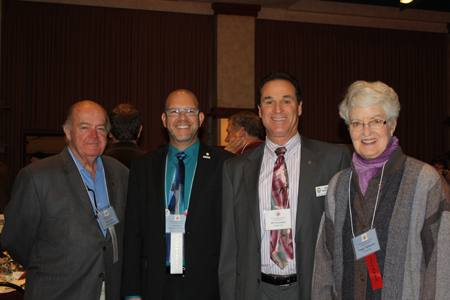 Jack Geary, Mike Kalhoff, Bill Rousseau and Peggy Soberanis