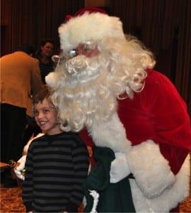 Santa and Riley