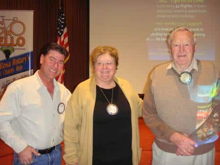Darren Elliot, Jeanne Levin, and Chuck Bartley