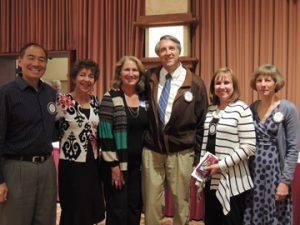 Larry & Mary Miyano, Robbie & Doug Chase, Vickie Hardcastle and Judy Glenn