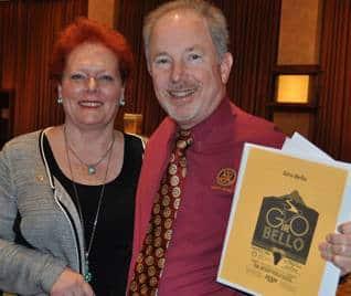 Debi Zaft & Don McMillan discuss Giro Bello volunteers