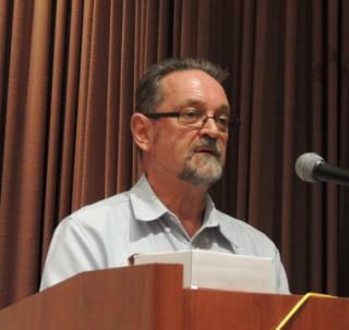 Rotarian John Kirkwood from Uganda