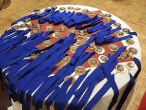 Awards ready to be handed out