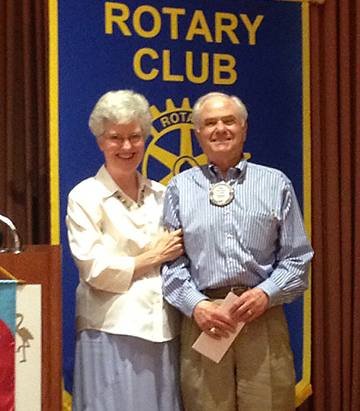 Rotarian of the Month