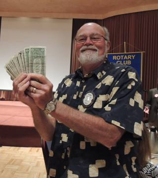 Steve Olson wins the jackpot!