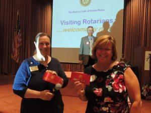 Cathy Vicini & Anne Gospe