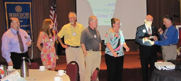 Rotapalooza performers receive Rotary Bucks