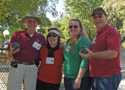 President Mark, Mel Konrad, Karen Bell, Bart Eddy