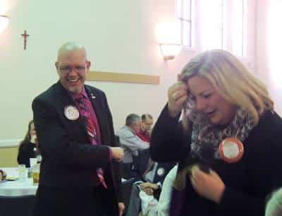 Mike Kallhoff and Emily Harrington