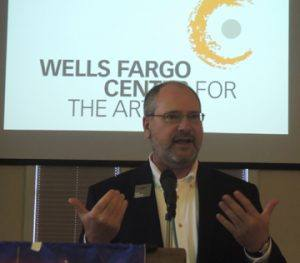 Guest speaker from Wells Fargo Center