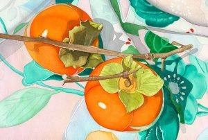 Persimmons-on-Kimono-#5a