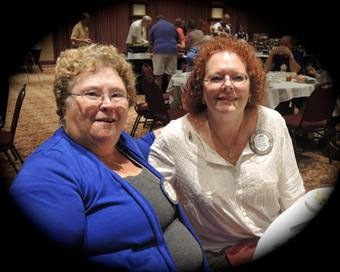 Jeanne Levin and Debi Zaft