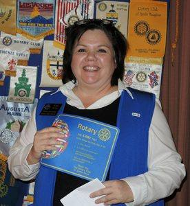 District Governor Erin Dunn