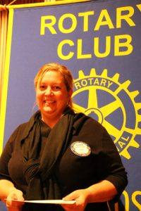 Rotarian of the Month - Kerrie Chambers