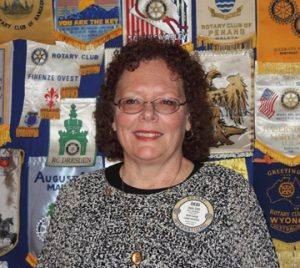 Rotarian of the Month Debi Zaft