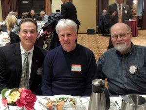 Bill Rousseau, Les Crawford, and Steve Olson