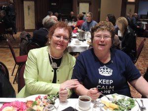 Debi Zaft and Jeanne Levin