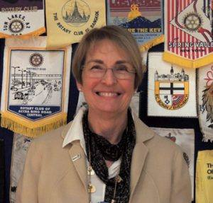 Diane Moresi - Rotarian of the Month