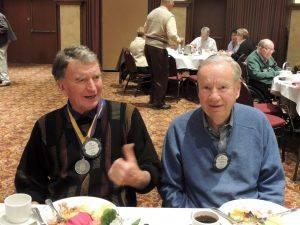 Ed Anderson and Bill Pederson