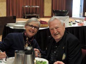 Kathleen Archer and Chuck Bartley