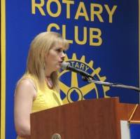 New member Andrea Geary gives her Craft Talk