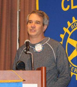 Rotarian of the Month Richard Lazovick