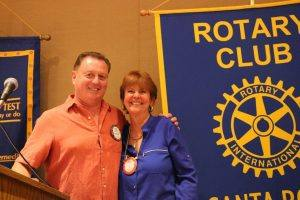 New blue badge member Kathy Schwartz