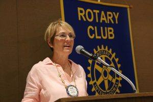 Rotarian of the Year Diane Moresi