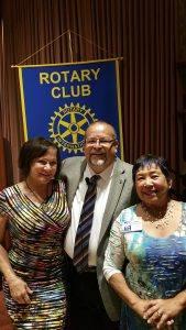 Maureen Merrill, Jose Guillen and chris Parr-Feldmen