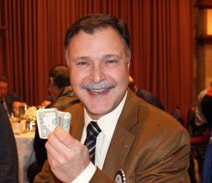 Bill Hatcher raffle loser