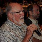 Steve Olsen, Rotary Club of Santa Rosa Foundation representative, discussing the function of the Foundation