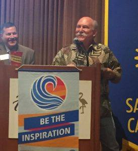 Robert Pierce is selected as Rotarian of the Year