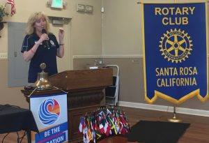 Guest speaker, Susan Ferron